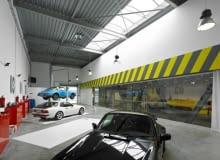 Biuro-garaż w Poznaniu, proj Ultra Architects
