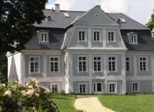 Pałac w Kamieńcu pod koniec prac renowacyjnych