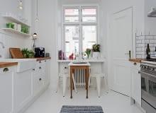 biała kuchnia, białe szafki kuchenne