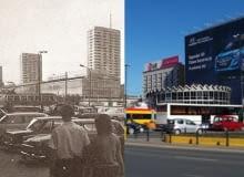 Ulica Marszałkowska wczoraj i dziś