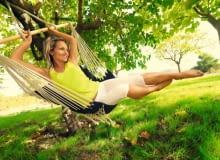 Nic tak nie relaksuje jak wypoczynek wśród zieleni.