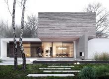 DOM 'T' projekt domu STOPROCENT Architekci