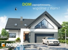 'Dom w jaskierkach (G2)' Wyjątkowy projekt domu w ofercie ARCHON+