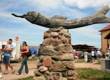 Pomnik śledzia w Strękowej Górze