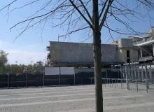 Rozbiórka modernistycznych budynków tworzących niegdyś kompleks basenów Legii
