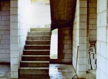 schody żelbetowe