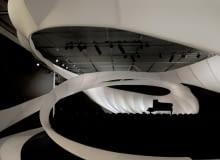sala koncertowa, projekt, wielka brytania, manchester, zaha hadid, architektura organiczna, mała bryła