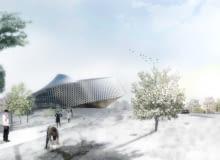 big, kazachstan, biblioteka, bjarke ingels group, kazachska biblioteka narodowa