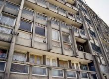 brutalizm, osiedle, londyn, architektura, robin hood gardens