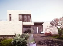 willa w Jordanii, projekt domu BXBstudio Bogusław Barnaś