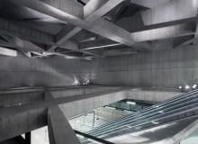 Stacja Metra M4 fovám station - Sporaarchitects, Budapeszt, Węgry (fot. Tamás Bujnovszky, za: https://www.facebook.com/sporaarchitects)