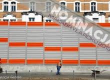 Ekrany akustyczne w centrum w Chorzowie