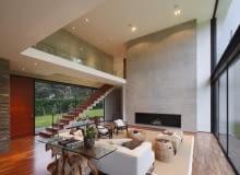Dom w Peru Pachacamac District, proj. Jaime Ortiz de Zevallos