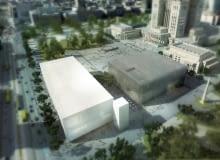 Wizualizacje nowej siedziby Muzeum Sztuki Nowoczesnej i Teatru TR w Warszawie