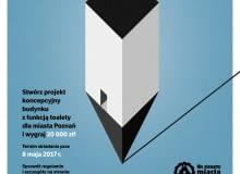 Konkurs na projekt toalety publicznej w Poznaniu