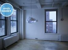 lampa, chmura, lampa w kształcie chmury, interaktywna lampa, oryginalna lampa