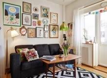 garderoba pod łóżkiem, garderoba w mieszkaniu, skandynawski styl