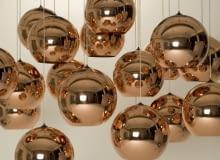 lampy; projekt: Tom Dixon