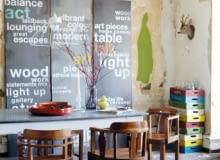 vintage, wnętrza, duński design, ściany