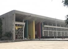 Gmach Sądu Najwyższego, Czandigarh, projekt: Le Corbusier