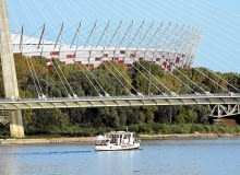 Stadion Narodowy w Warszawie, główna arena rozgrywek piłkarskich na Euro 2012