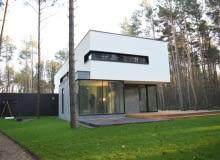 Dom w Raszynie wykonany z prefabrykatów