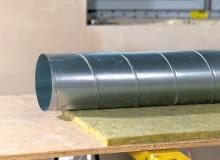 Izolacja kanałów wentylacji mechanicznej
