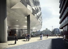 londyn, projekt, wielka brytania, architektura, bloby, hotel