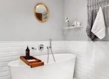 Łazienka, wanna , Vives Ceramica, płytki łazienkowe, łazienka z wanną