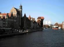 Gdańsk - widok na Motławę