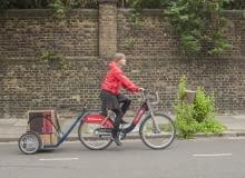 Miejska przyczepka rowerowa. Projekt: Jan Libera