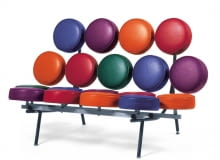 sofa Marshmallow; projekt: George Nelson