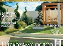 Okładka miesięcznika Ogrody marzec 2010