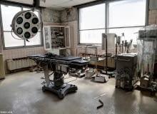 Opuszczony szpital na wyspie Hokkaido w Japonii