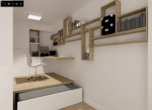 kawalerka, małe mieszkanie, sypialnia, porady architektów