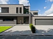 Elewacje domów z cegły