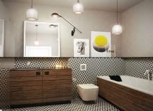 łazienka, styl nowoczesny, styl minimalistyczny, aranżacja łazienki, styl skandynawski