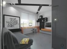 porady architekta, mały pokój, pokój dla studenta
