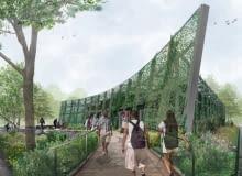 Projekt siedziby Bronx River Alliance ma być miejscem dla każdego i ożywić tereny wokół rzeki, proj. kiss cathcart architects
