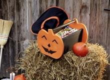 Zrób to sam: Halloween'owy koszyk na słodycze