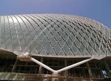 zjednoczone emiraty arabskie, hotel, asymptote architecture, tor wyścigowy, sport, abu dhabi