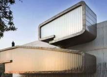 muzeum, architektura, konkurs, fasada, hiszpania, miedź, dom jednorodzinny