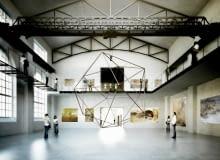 19.05.2014 Bialystok Koncepcja przebudowy Elektrowni na galeria Arsenal . Projekt - pracownia architektoniczna WXCA .