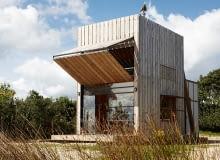 dom na plaży, nowoczesny dom, mały dom, wakacyjny dom, jak urządzić