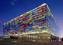 holandia, nietypowe, biurowiec, muzeum, budynek