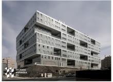 architektura, bloki, madryt, mvrdv, hiszpania, beton, budynek