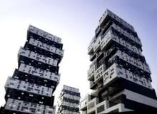 Chiny, Pekin, Sako, wieżowce
