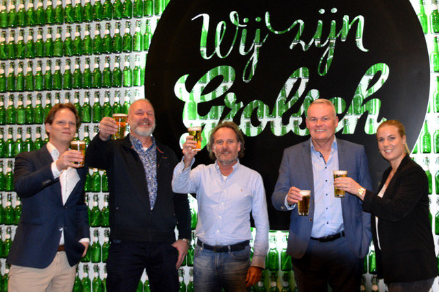 Preston Palace, Grolsch en de Klok dranken verlengen samenwerking