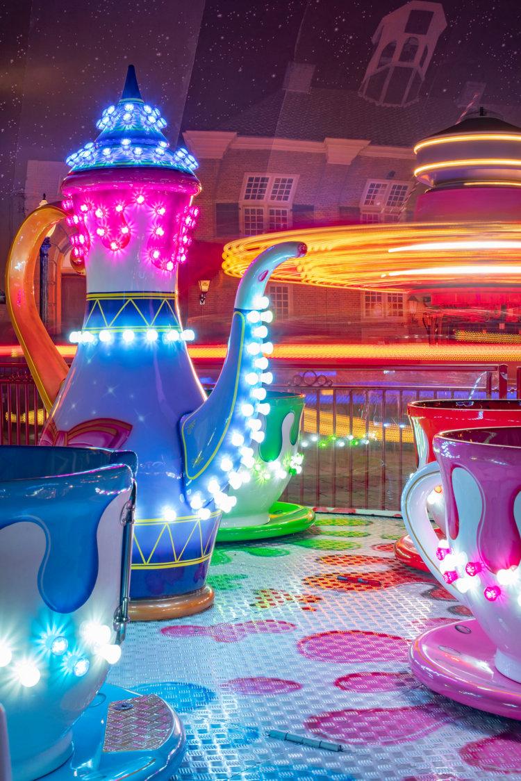 Tea cups detaill