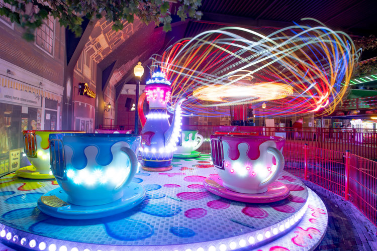 Teacups met Energy Storm